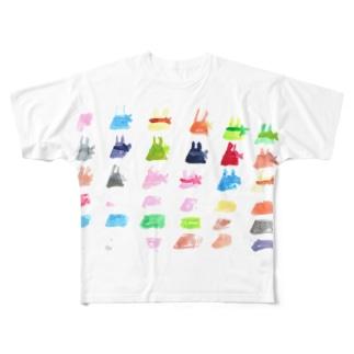 今日の自分 Full graphic T-shirts