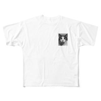 ゆべし2 Full graphic T-shirts