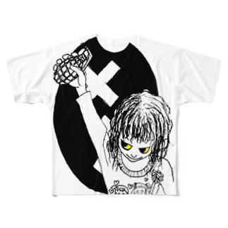 パイナップルアーミー Full graphic T-shirts