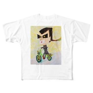 自転車暴走族 Full graphic T-shirts