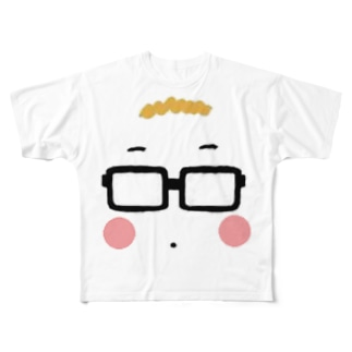 ながもくん Full graphic T-shirts