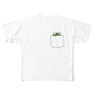 tobacco Full graphic T-shirts