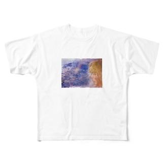 うみのおんなのこ Full graphic T-shirts