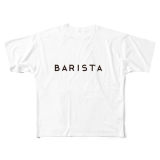 BARISTA バリスタTシャツ Full graphic T-shirts