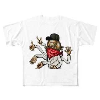 30指のギャングスタ Full graphic T-shirts