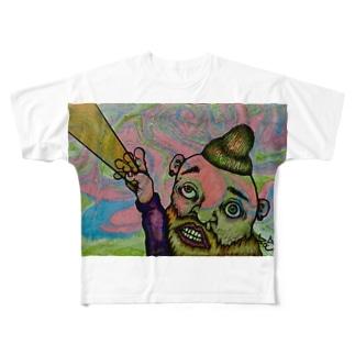 光線男 Full graphic T-shirts