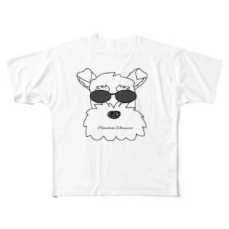 決め決めシュナ Full graphic T-shirts