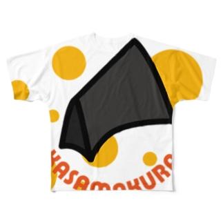 KASAMAKURA Full graphic T-shirts
