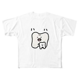 ハハのもの Full graphic T-shirts