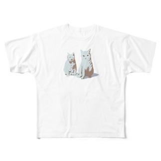 流星's MarketのYuniKuji_1 Full graphic T-shirts