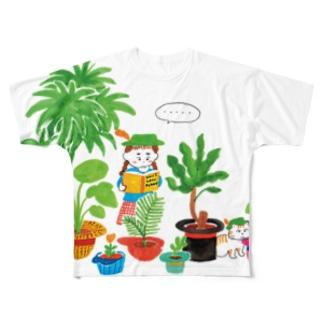Shokubutsu2 Full graphic T-shirts