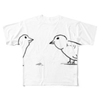 いぐち とーりのトーリ Full graphic T-shirts