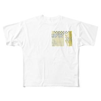 なーな。の柄② Full graphic T-shirts