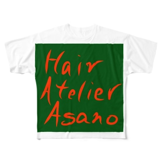 Hair Atelier Asano Full graphic T-shirts