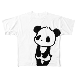 ぱんだ Full graphic T-shirts