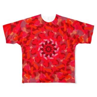 カエングルマ Full graphic T-shirts