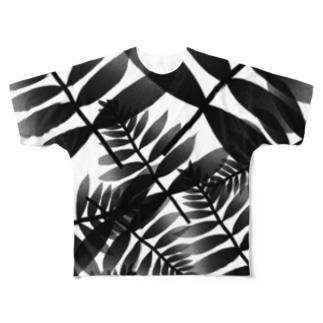 ブラックリーフ Full graphic T-shirts