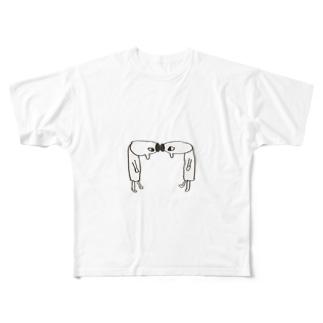 ごっつんこ Full graphic T-shirts