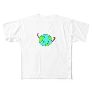 o-kiのpeace  Full graphic T-shirts