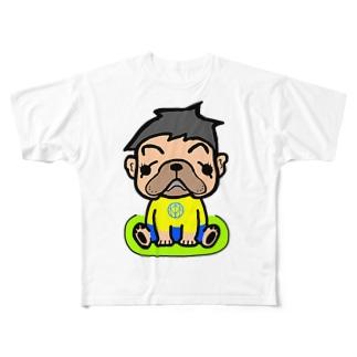 森くん Full graphic T-shirts