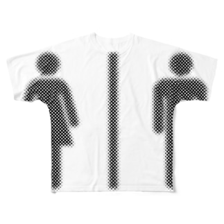 toilet Full graphic T-shirts