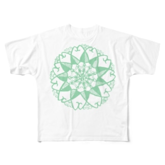 みどりのおはな Full graphic T-shirts