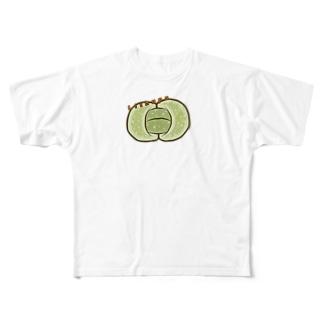 mugioのリトープス Full graphic T-shirts