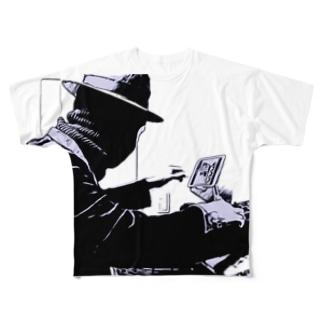 iiia DJフルグラフィック Full graphic T-shirts