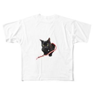 まめぞうくん Full graphic T-shirts