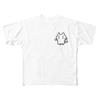 ネコチヤン Full graphic T-shirts