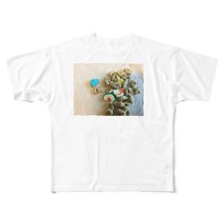 お菓子 Full graphic T-shirts