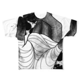 BENI zombie hand Full Graphic T-Shirt