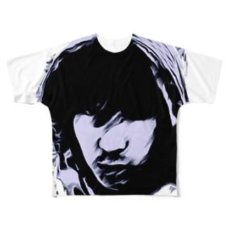 Bassist 阿久津 拓也 フルグラフィック Full graphic T-shirts