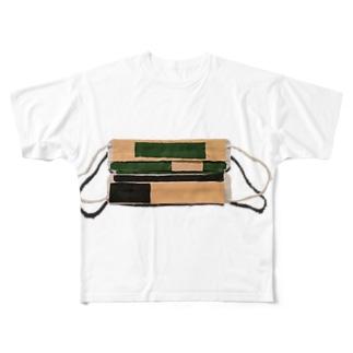 11月までマスク Full graphic T-shirts