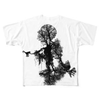 洗脳 Full graphic T-shirts