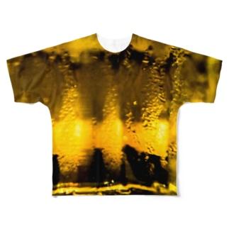 キンッキンに冷えた生ビール Full graphic T-shirts