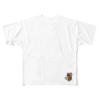 ははは Full graphic T-shirts