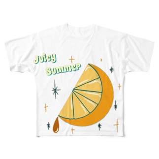 Juicy Summer Full graphic T-shirts