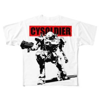 サイソルジャー パッケージ Full graphic T-shirts