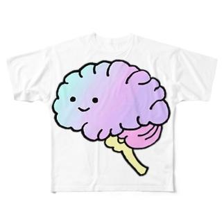 もつやのブレンズ Full graphic T-shirts