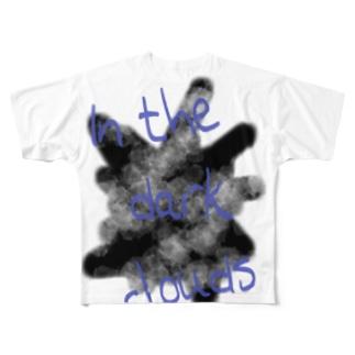 のらぬこさんの闇雲Tシャツ Full graphic T-shirts