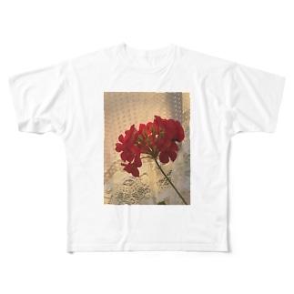 光と花 Full graphic T-shirts