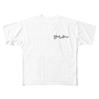 ど~しよ~ Full graphic T-shirts
