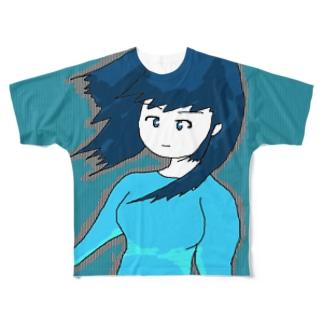 ナウ・ガール65 Full graphic T-shirts