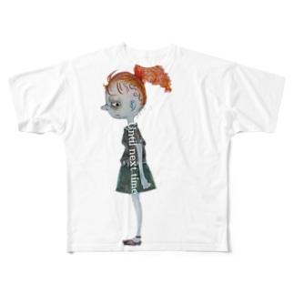 ミドンさんのばいばい Full graphic T-shirts