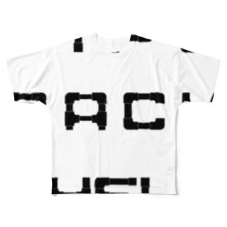 silent GARAGEのガス管ラック 薄用 Full graphic T-shirts