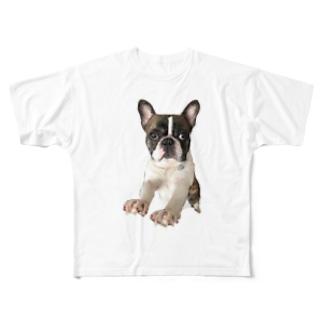 楓花の岩三郎 Full graphic T-shirts