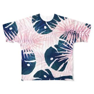トロピカル1 Full graphic T-shirts
