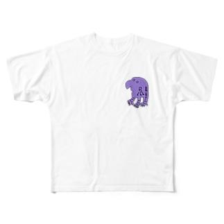 バミさん Full graphic T-shirts