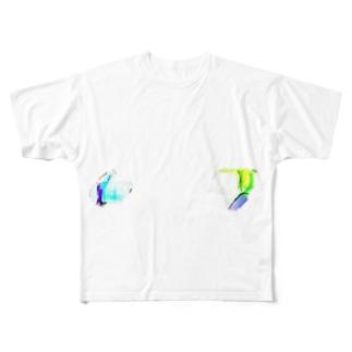 高評価&低評価 Full graphic T-shirts